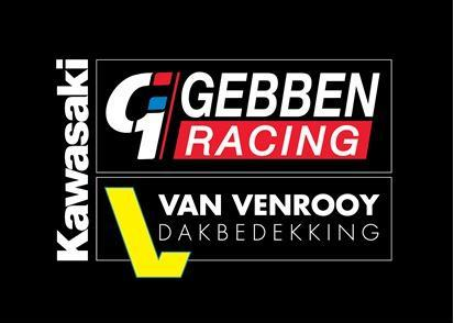 Gebben Racing - Van Venrooy, Kawasaki logo