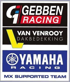 Gebben Van Venrooy Racing Yamaha Racing LOGO